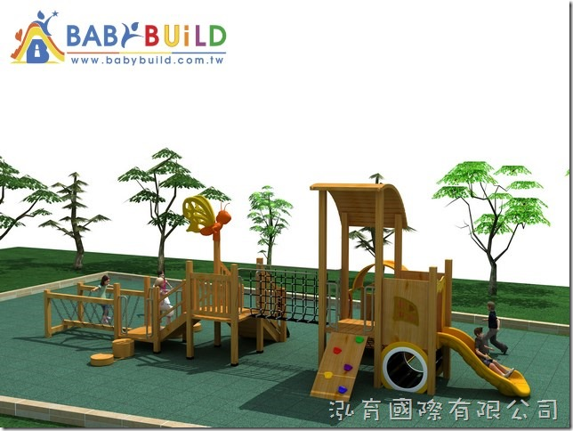 BabyBuild 木製遊具設計