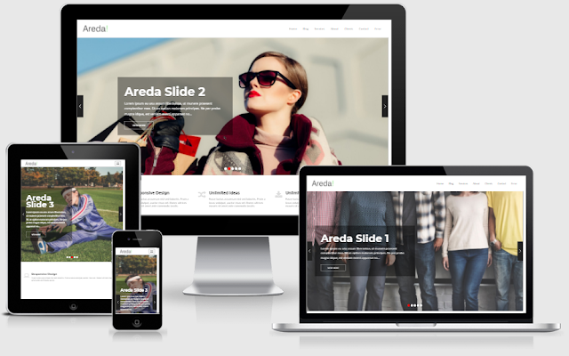 Areda Home 6 - Blogger Template free download