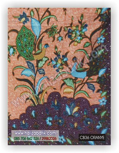 Model Batik Terbaru, Grosir Baju Murah, CB36 ORANYE
