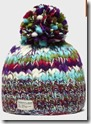 Kusan Rainbow Bobble hat