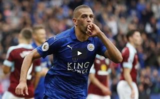Vidéo : Le doublé d'Islam Slimani avec Leicester City