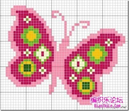 mariposas punto de cruz (6)