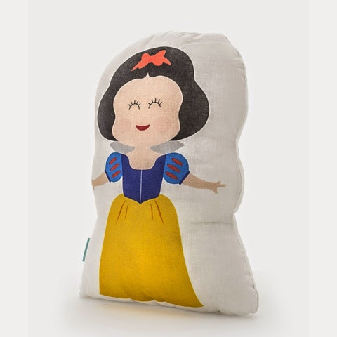 Mr Fox Dwarves Bedding - Snow White Cushion