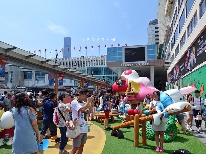 20 香港 海港城 Harbourcity 藍精靈 十分勁
