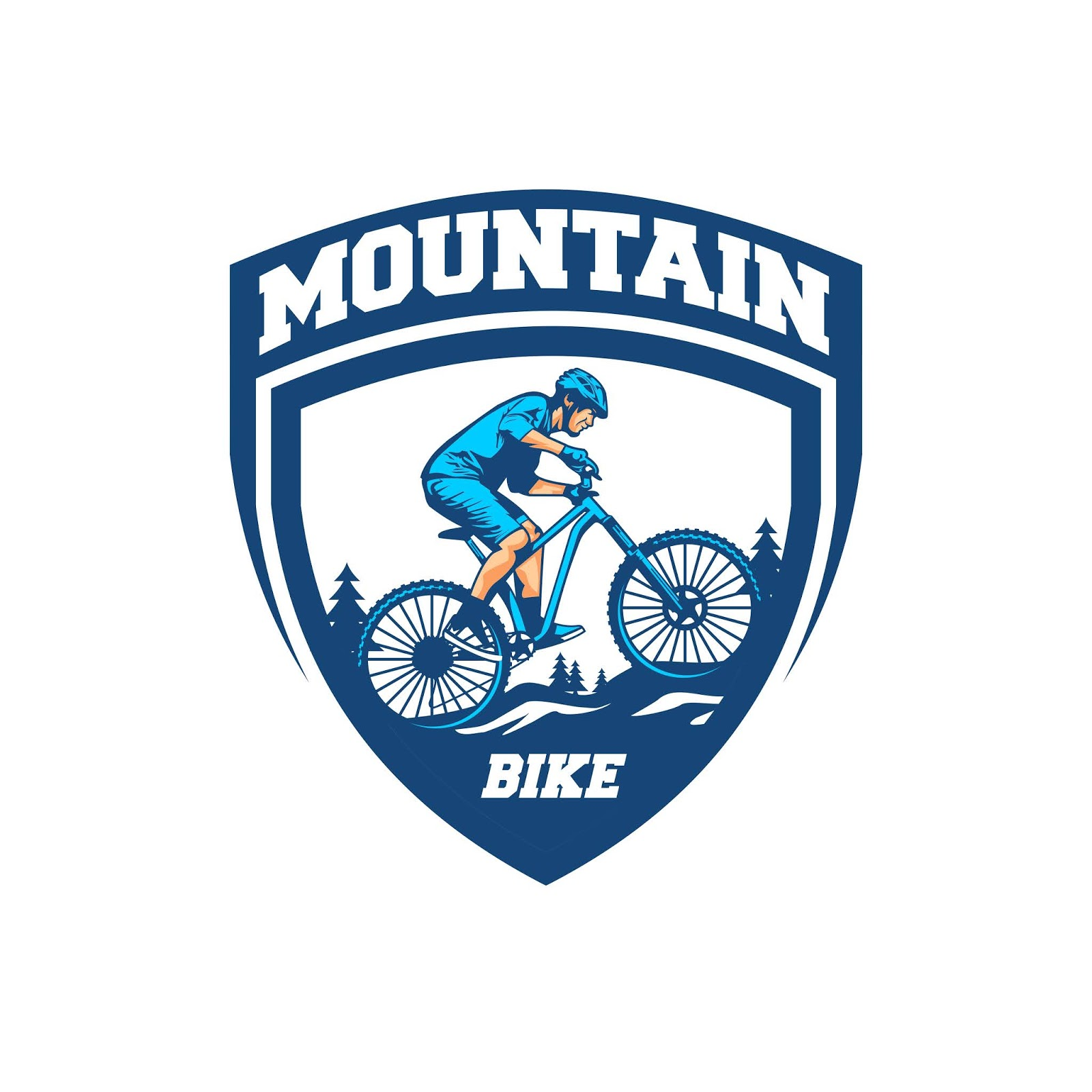 Mountain Bike Vector Free Download Vector CDR, AI, EPS and PNG Formats