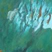 Landschaftliches, 1996. �l auf Leinwand, 111 x 70,5 cm. Euro  3.900,-