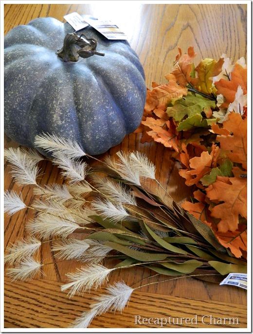 Leafy pumpkin 1