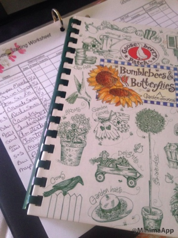 farm season journal keeping