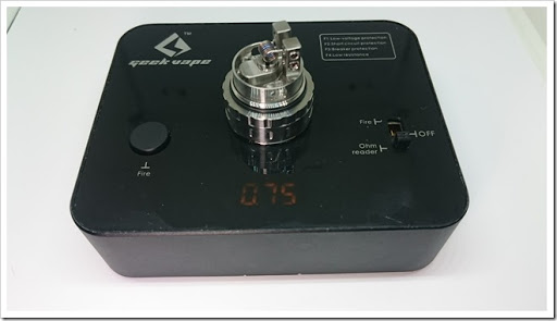 DSC 3702 thumb%25255B2%25255D - 【RTA】「AUGVAPE MERLIN RTA」レビュー。爆煙系シングルフレイバーチェイサータンク!【23mmタンク、やや過大評価感?】追記あり:デュアルビルドでフレーバー!