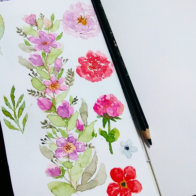 Art Therapy Ideas Cara Membuat Color Chart Watercolor Ewafebri