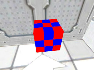 Red and Blue block