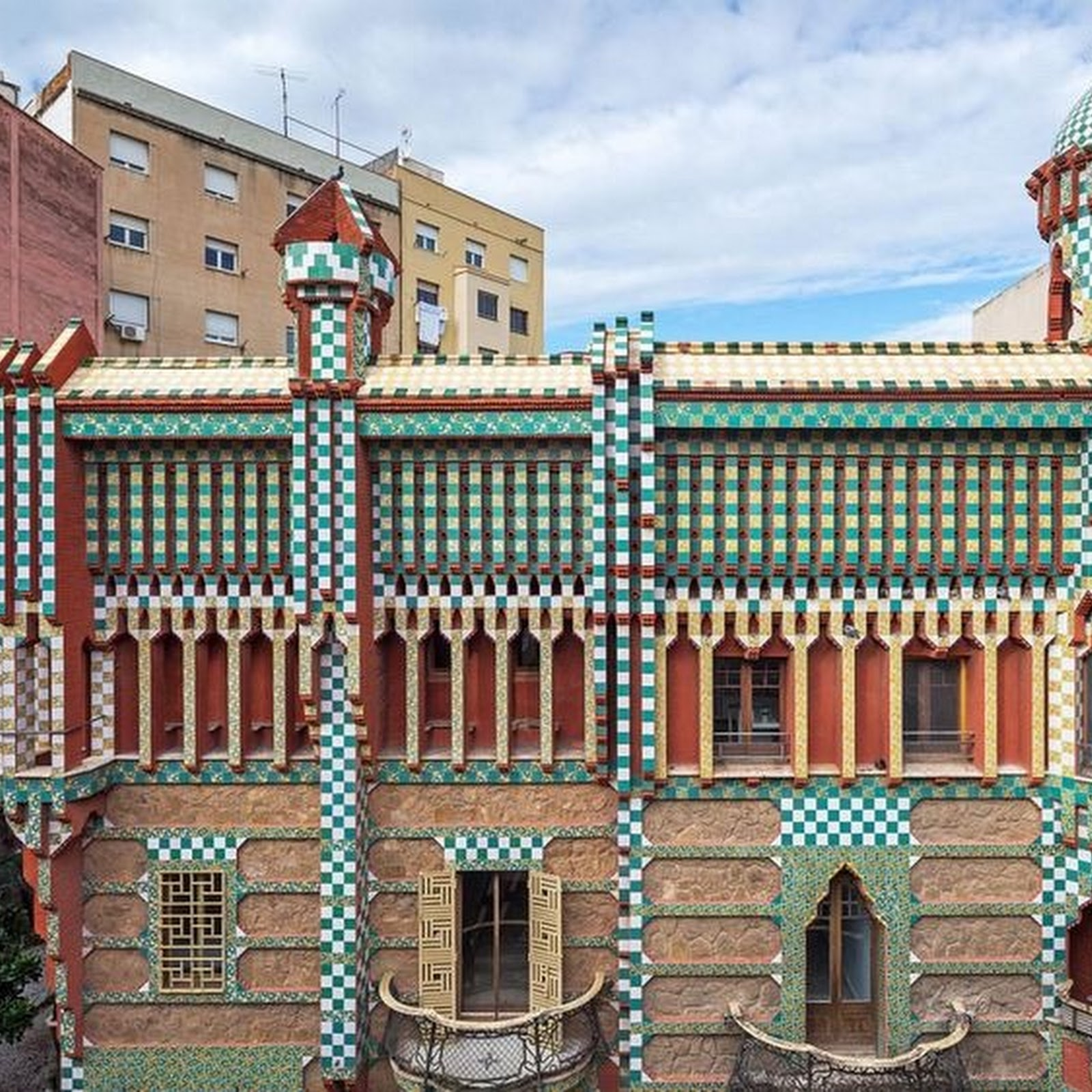 Casa Vicens: Gaudi's First Building Opens To Public