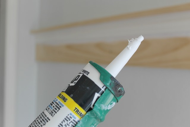 coat rack caulking