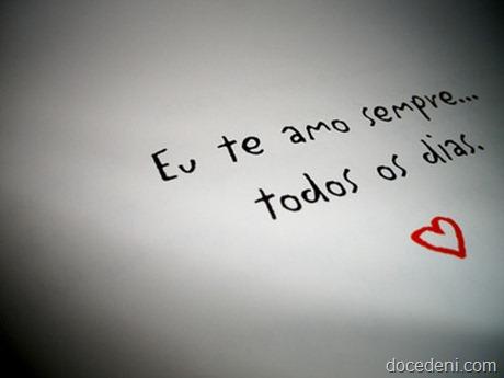 eu te amo sempre