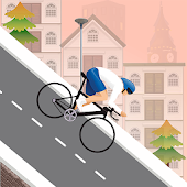 Downhill Cycle Riders - Free