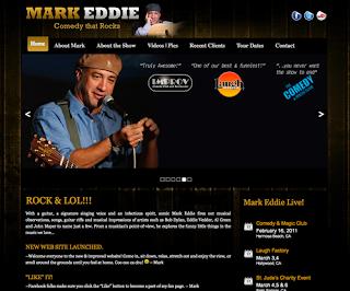 Mark Eddie Guitar Comedy New Web Site