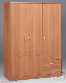 Tủ áo ba cánh TASM011