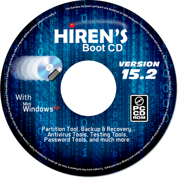 HIRENS BOOT CD 15.2 FULL VERSION FREE DOWNLOAD