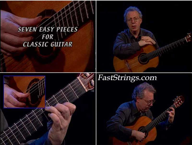 Frederic Hand: Classical Guitar - Seven Easy Pieces