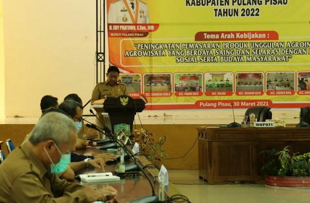 Buka Musrenbang RKPD Kabupaten, Ini Kata Bupati Edy Pratowo
