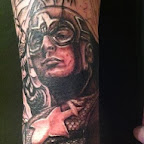 pulse - Captain America Tattoos Pictures