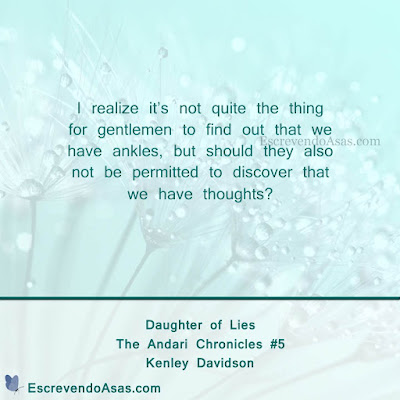 Daughter of Lies, The Andari Chronicles - Kenley Davidson