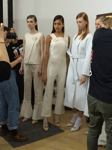 osman model collection line-up london fashion week 2015