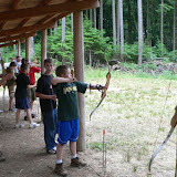 Archery Shoot during Troop Free Time
