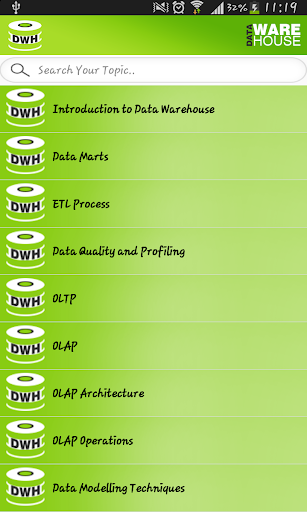 Data WareHouse 1.0 screenshots 2