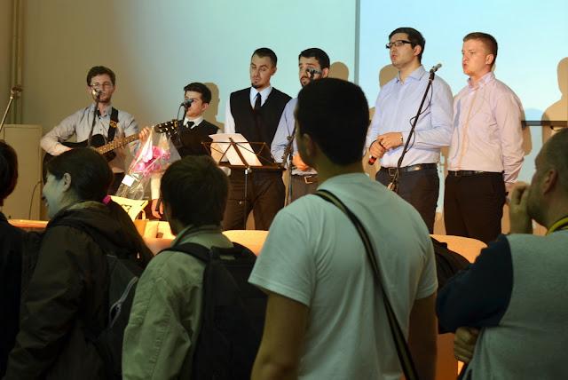 Conferinta Despre martiri cu Dan Puric, FTOUB 180
