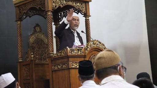 Buya Gubernur Ingatkan Umat kembali ke Al Qur'an Saat Dihadapkan pada Masalah Kala Pandemi