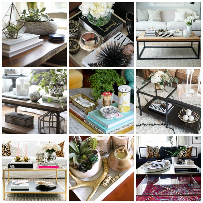 Coffee Table Collage