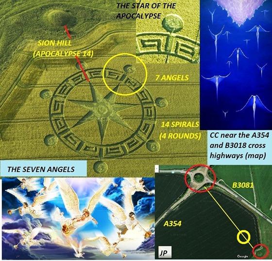 Símbolo do Círculo de Colheita dos Sete Anjos do Apocalipse na Terra 03
