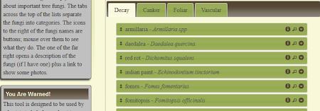 Fungus Finder App