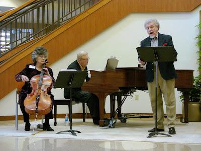 Editors in concert Cellist Barbara Hedlund, Bass-baritone Ronald Hedlund, Pianist Eric Dalheim
