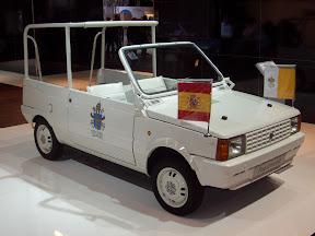 1980 Seat Panda Papamobil