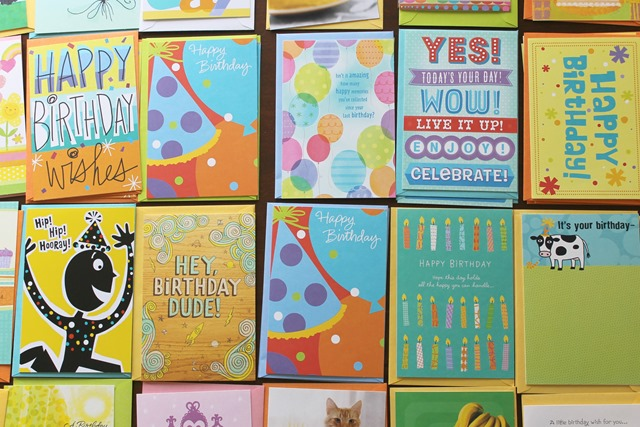 Hallmark birthday cards
