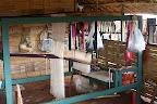 One of TBF weaving looms