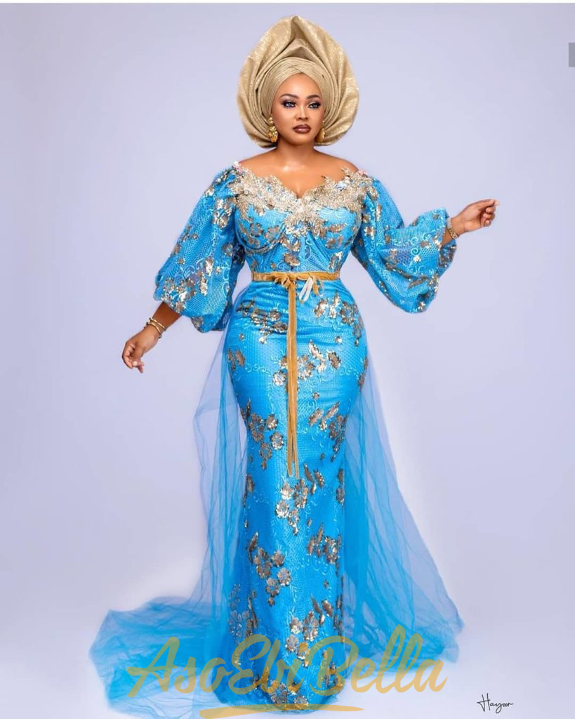 93 Edition Of #Ebfablook - 16 Chic and classy Aso Ebi Outfits And Styles For Regal Women 2021