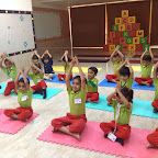 Celebration of International Yoga Day at Witty World at BN by SR KG B