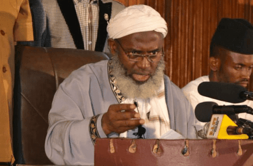 I won't Keep quiet, Politicians are not different from prostitutes – Sheikh Gumi Cries Out