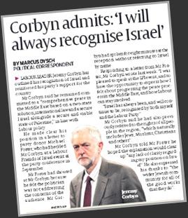Corbyn & Israel 30.11.15