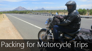 Packing Tips for your Motorcycle Trip