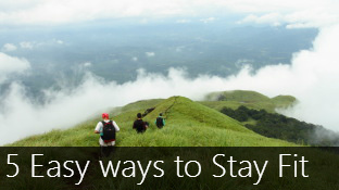 5 Easy ways to Stay FIT while traveling