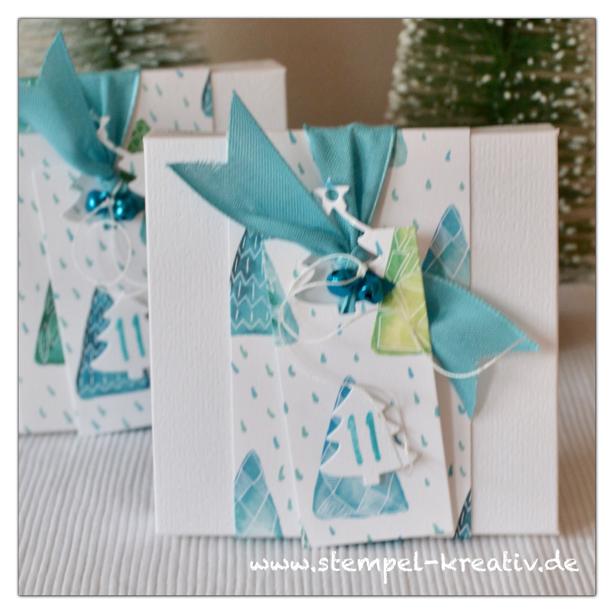 Geschenkverpackung Schachtel