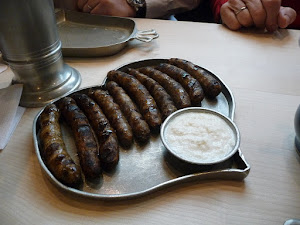 Nurenberg sausages