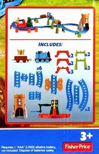 Đồ chơi tàu hỏa Thomas & Friends King Of The Railway Deluxe Set Fisher Price BGL99 bao gồm 34 chi tiết