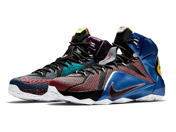 The Complete Makeover of the WHAT THE LeBron 12