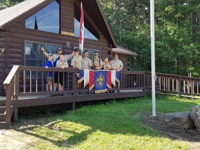 Troop 392 at Camp Falling Rock