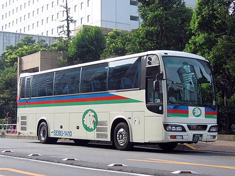 西武バス 新潟線 1410